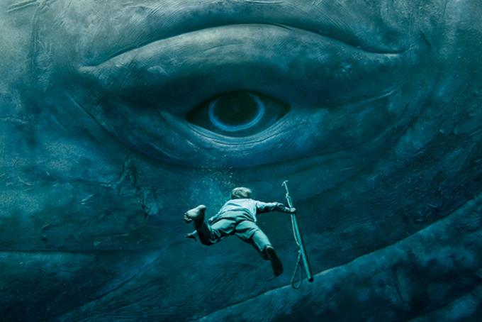 locandina di Heart of the Sea, film ispirato al naufragio dell'Essex