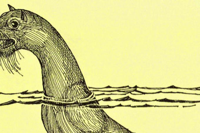 ricostruzione della scimmia marina di Steller (© Craig Gosling)